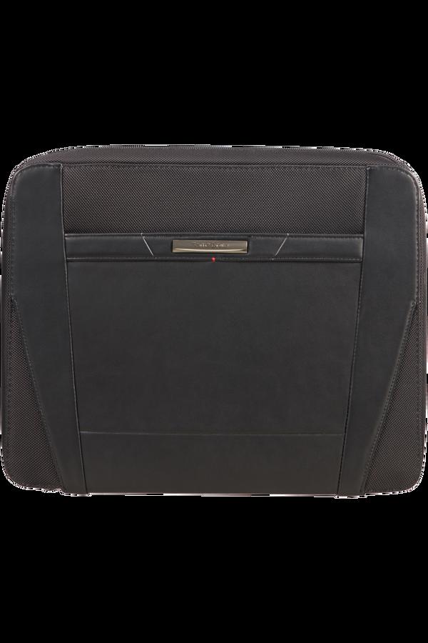 Samsonite Stationery Pro-Dlx 5 Zip Folder A4 Det B  Zwart