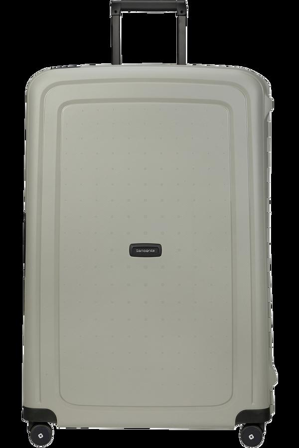 Samsonite S'cure Eco Spinner Post Consumer 81cm  Green Grey