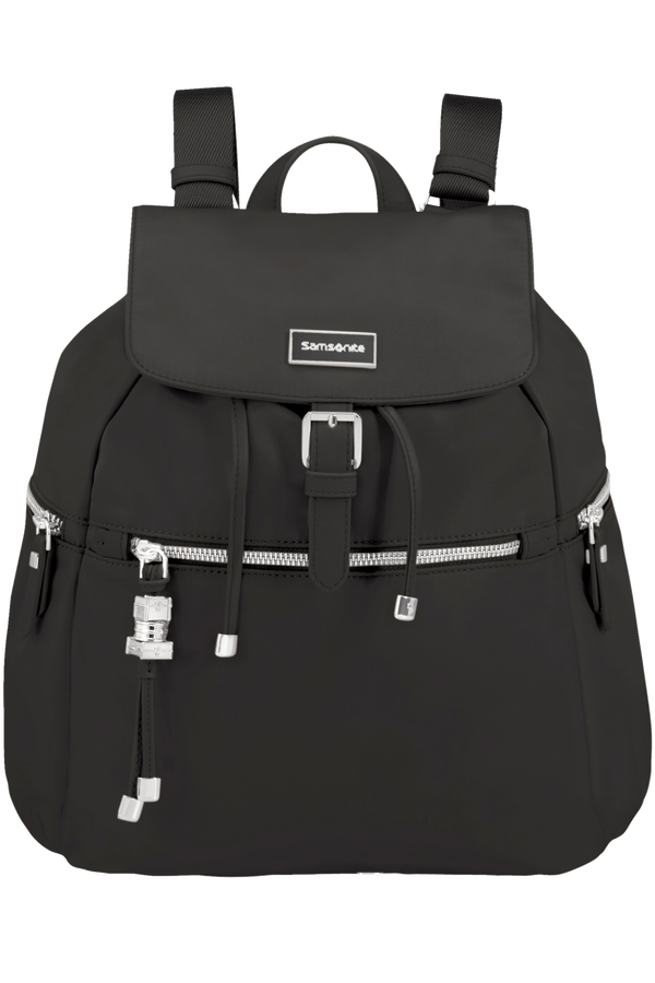 Samsonite Karissa Backpack 3 Pockets + 1 Buckle Zwart