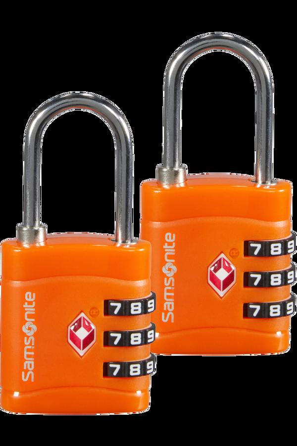Samsonite Global Ta Combilock 3 dial TSA x2 Oranje
