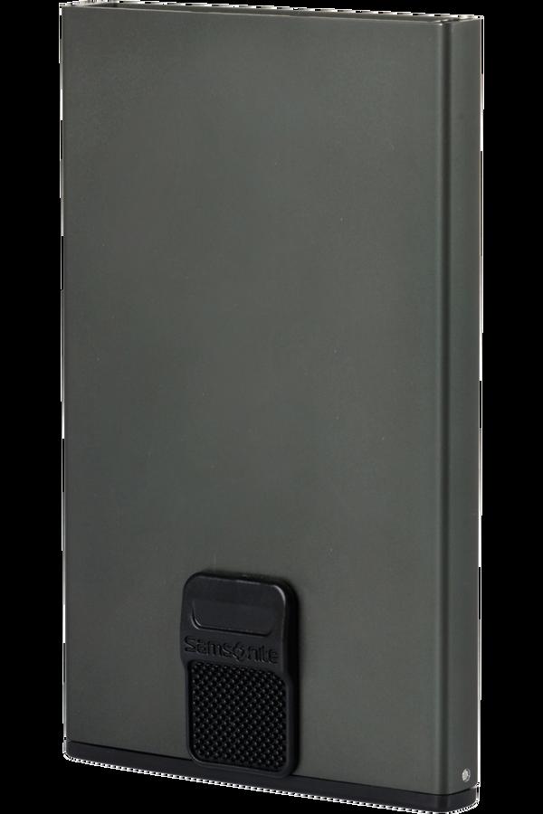 Samsonite Alu Fit 201 - Slide-up Case  Antraciet