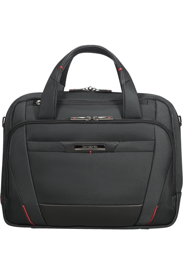 Samsonite Pro-Dlx 5 Laptop Bailhandle  35.8cm/14.1inch Zwart