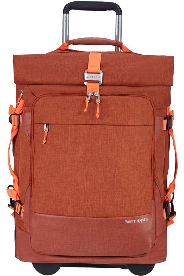 Samsonite Ziproll Duffle/Wh 55/20 Backpack  Burnt orange