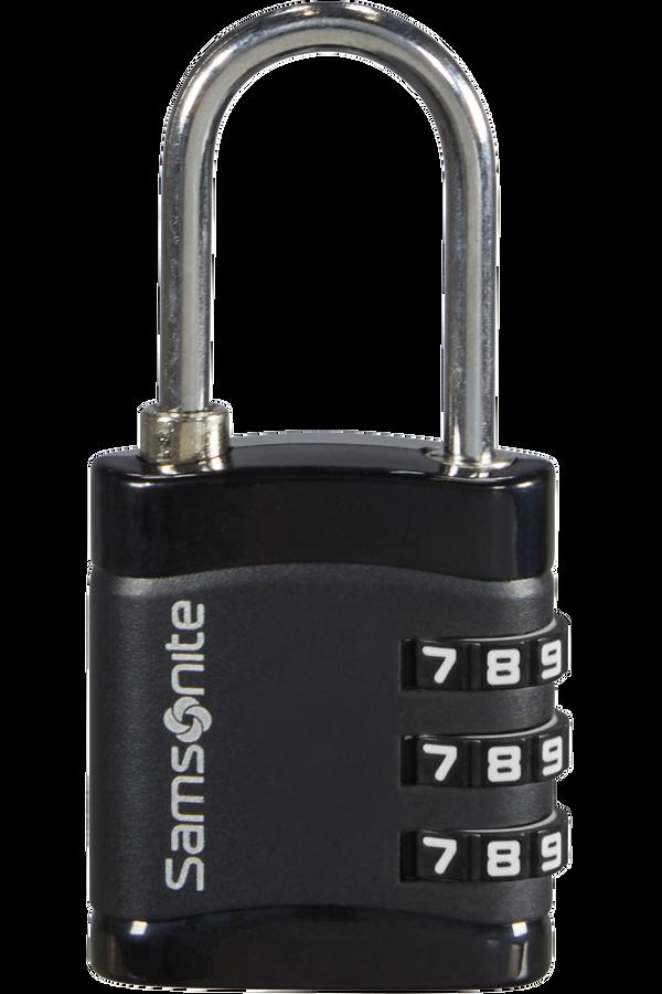 Samsonite Global Ta Combilock 3 dial light Zwart