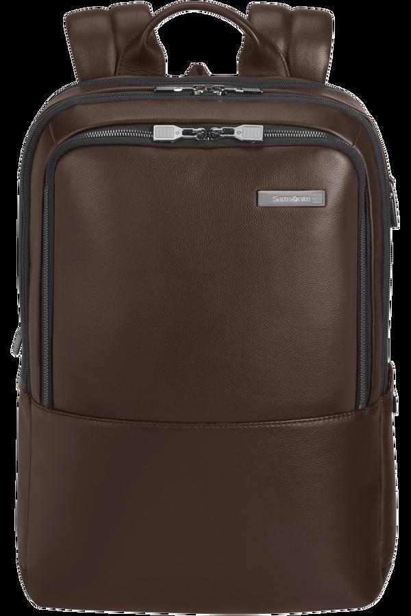 Samsonite Safton Lth Laptop Backpack 2c  15.6inch Bruin