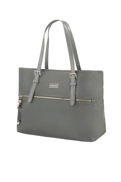 Karissa Shoppingtas M Gunmetal Green