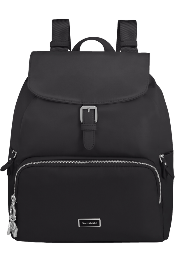 Samsonite Karissa 2.0 Backpack 3 Pockets 1 Buckle  Zwart
