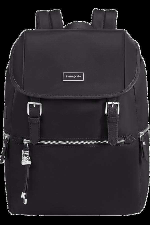 Samsonite Karissa Biz Backpack 14.1'+Flap W/Usb  Zwart