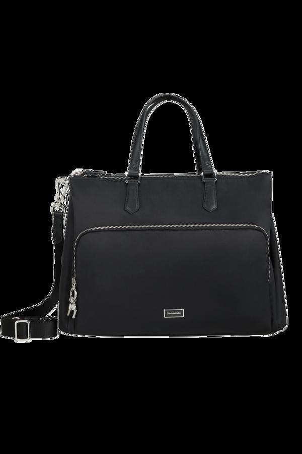 Samsonite Karissa Biz 2.0 Org. Shopping Bag 3 Comp.  14.1inch Zwart