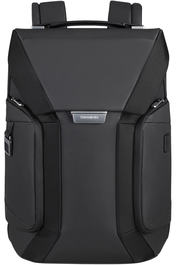 Samsonite Alu Biz Laptop Backpack Flap  15.6inch Zwart