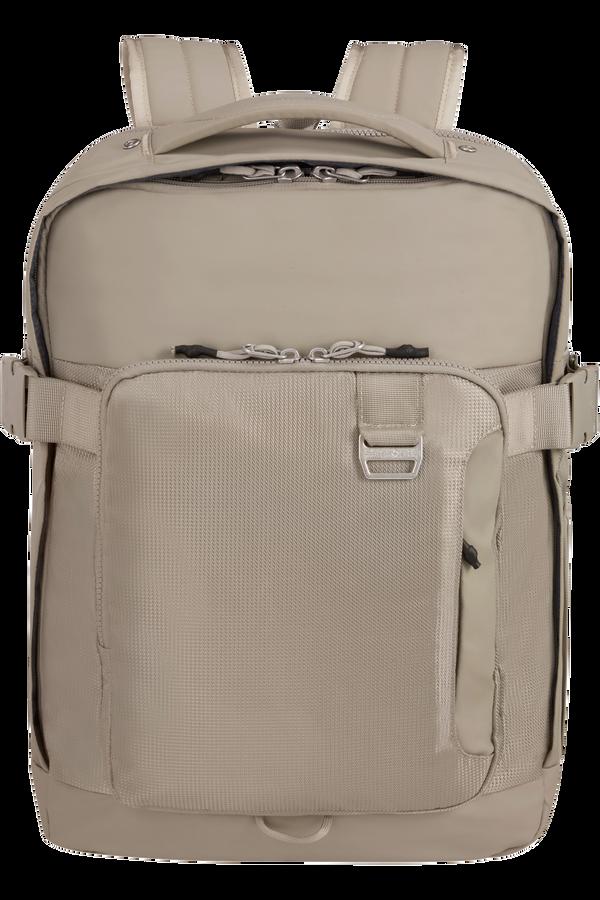 Samsonite Midtown Laptop Backpack Expandable L 15.6inch Sand