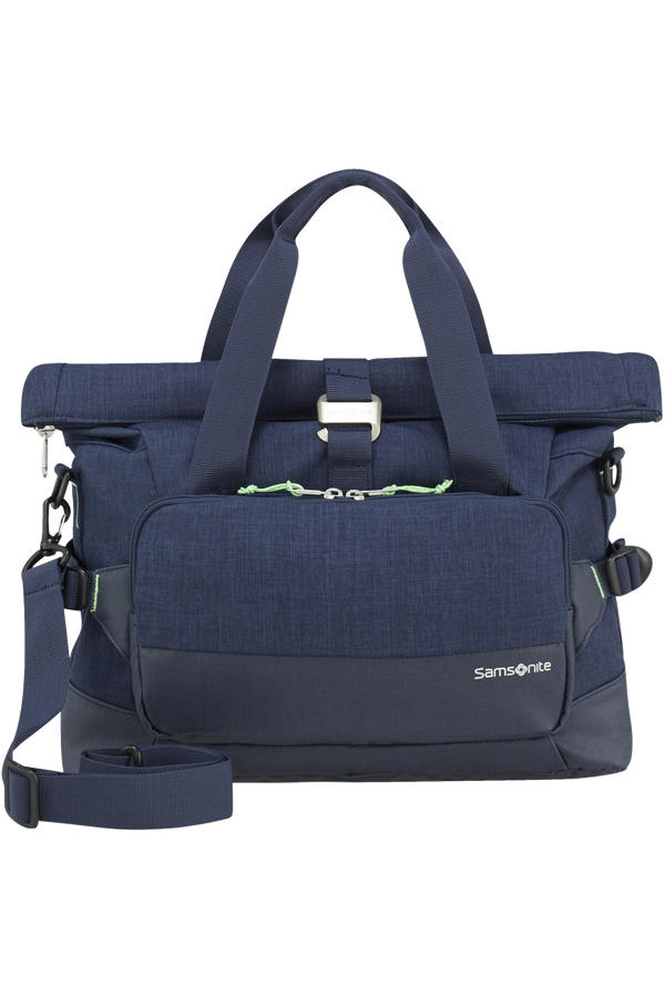 Samsonite Ziproll Laptop Shoulder Bag  Night Blue