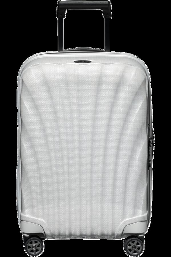 Samsonite C-Lite Spinner Expandable 55cm  Off white
