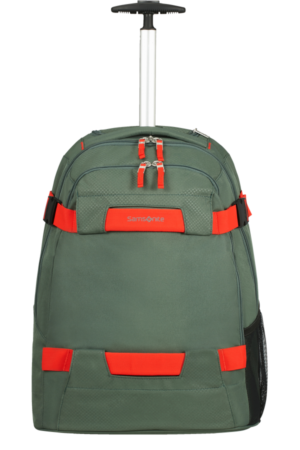 Samsonite Sonora Laptop Backpack with Wheels 55cm 17inch Thyme Green