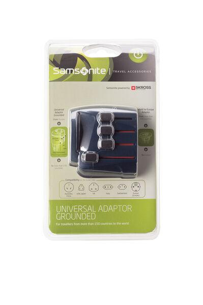 Travel Acc.Essential Adapter Blauw