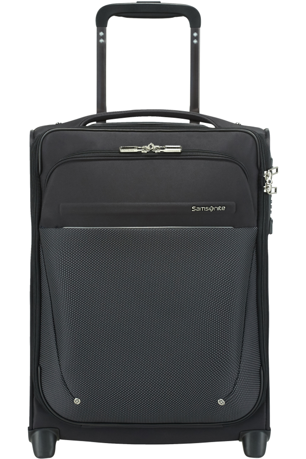 Samsonite B-Lite Icon Upright Underseater USB 45cm  Zwart