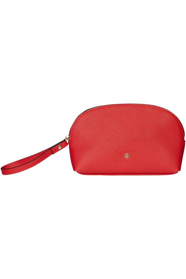 Samsonite Wavy Slg Cosmetic Kit  Classic Red