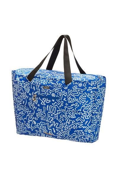 Travel Accessories Shoppingtas Graffiti Blue