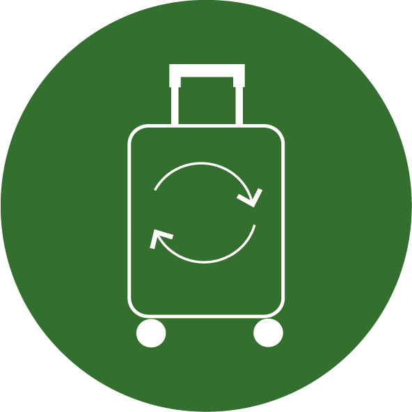 Bring your old suitcase