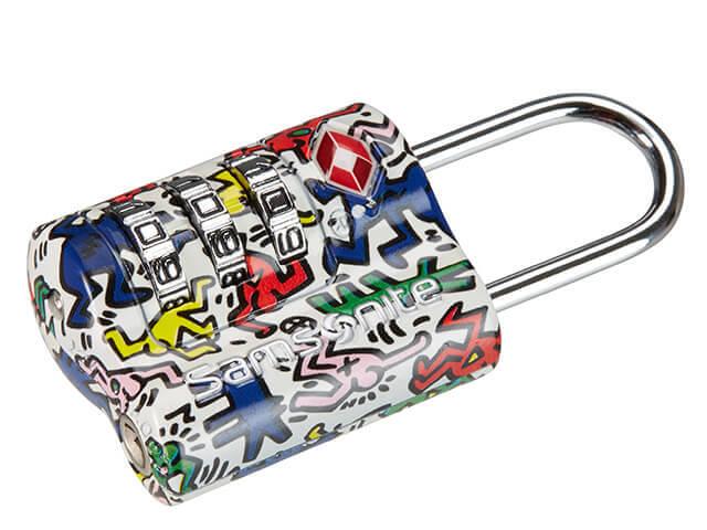 Keith Haring TSA Combilock