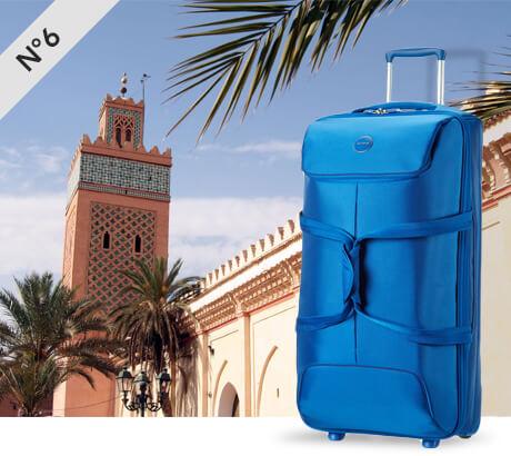 Marrakech, Morocco with Pop Fresh
