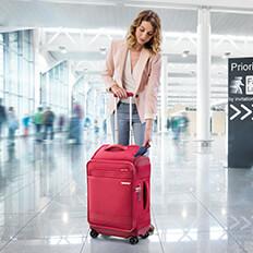 Innovatieve handbagage met bovenvak!