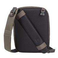 exclusief 2-in-1-ontwerp: van schoudertas met één riem tot cross-over in één gemakkelijke stap